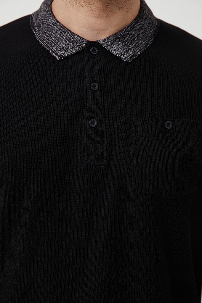 Поло мужское, Модель BAS-20017, Фото №5