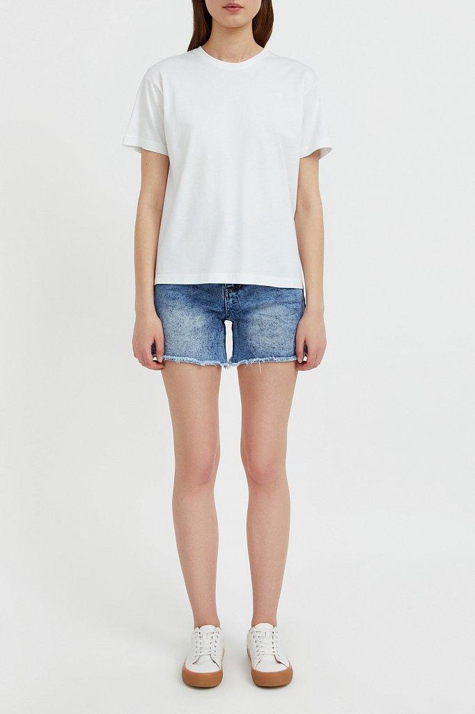 Базовая футболка с круглым вырезом, Модель BAS-10012, Фото №2