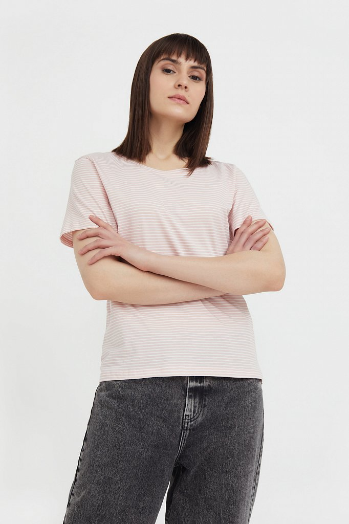 Футболка женская, Модель BAS-10003, Фото №2