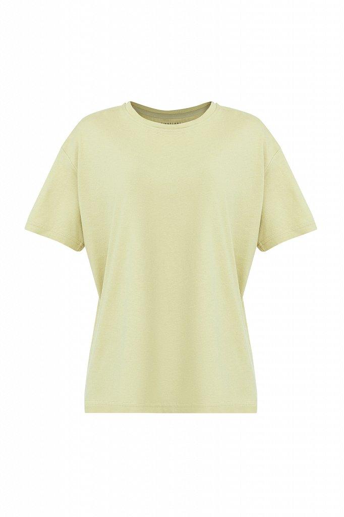 Базовая футболка с круглым вырезом, Модель BAS-10012, Фото №6