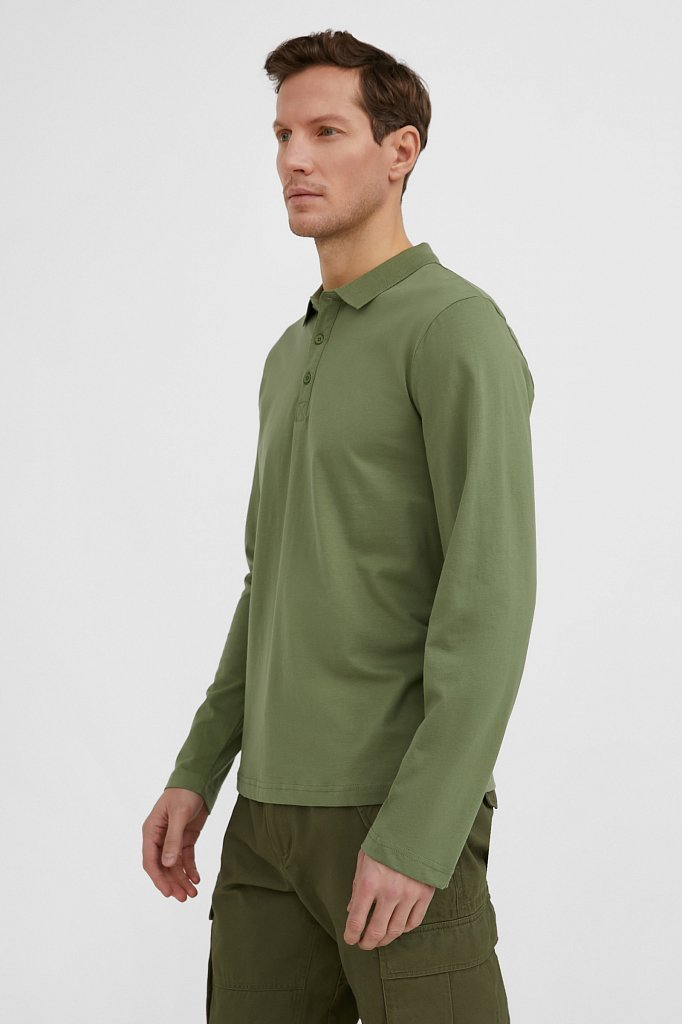 Поло мужское, Модель BAS-20003, Фото №3