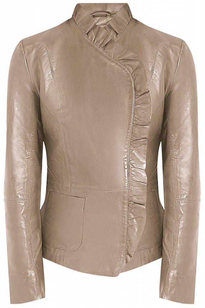 Куртка кожаная женская, Модель CB19-17010, Фото №6