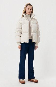 Утепленные женские брюки с поясом на резинке FAB110174