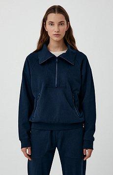 Толстовка женская на молнии с карманами FAB110176