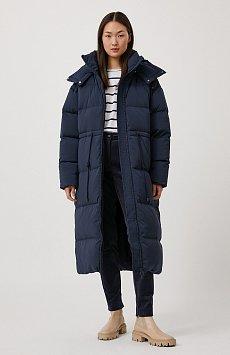 Пуховое женское пальто свободного кроя FAB110183