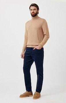 Вельветовые мужские брюки прямого кроя FAB21016