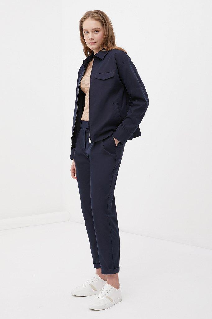 Женские брюки чинос на средней посадке, Модель FAB11010, Фото №1