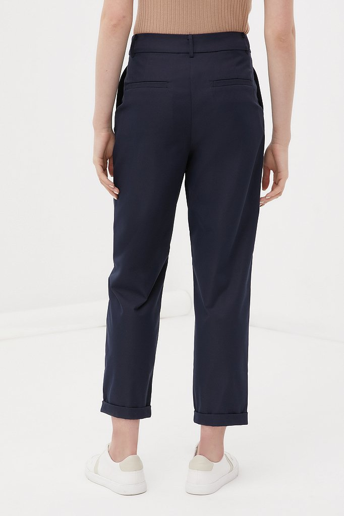 Женские брюки чинос на средней посадке, Модель FAB11010, Фото №4