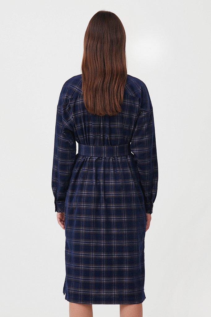 Вельветовое платье-рубашка, Модель FAB110116, Фото №5