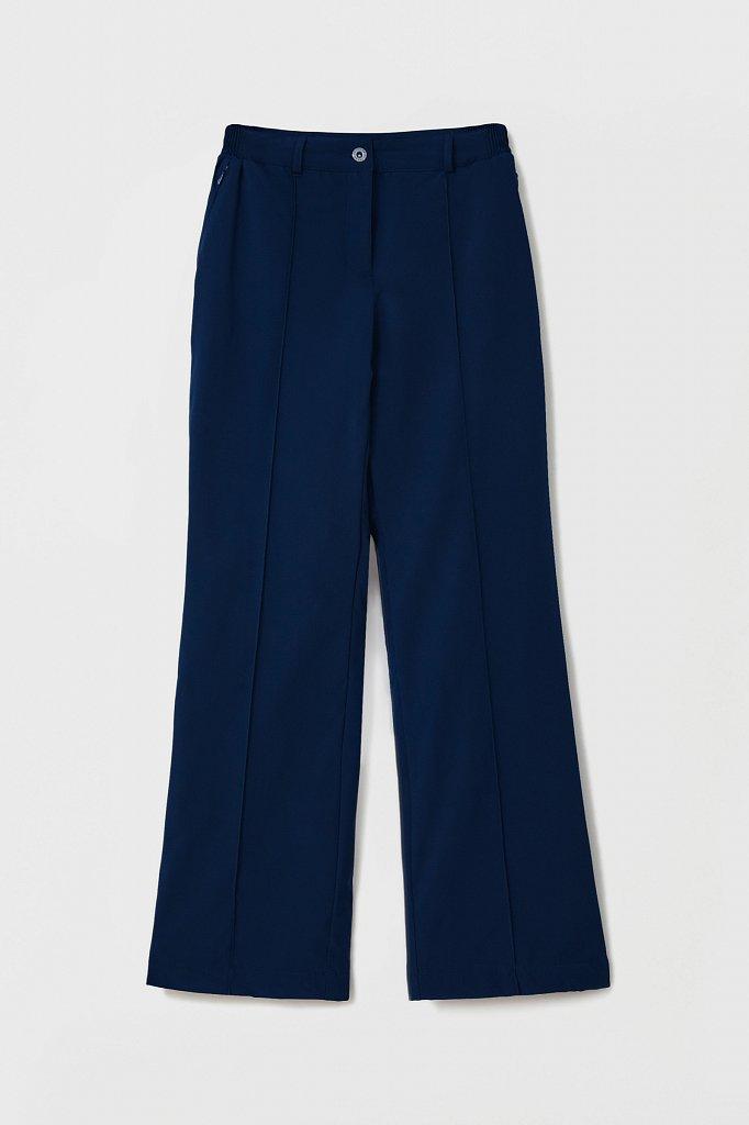 Утепленные женские брюки с поясом на резинке, Модель FAB110174, Фото №6