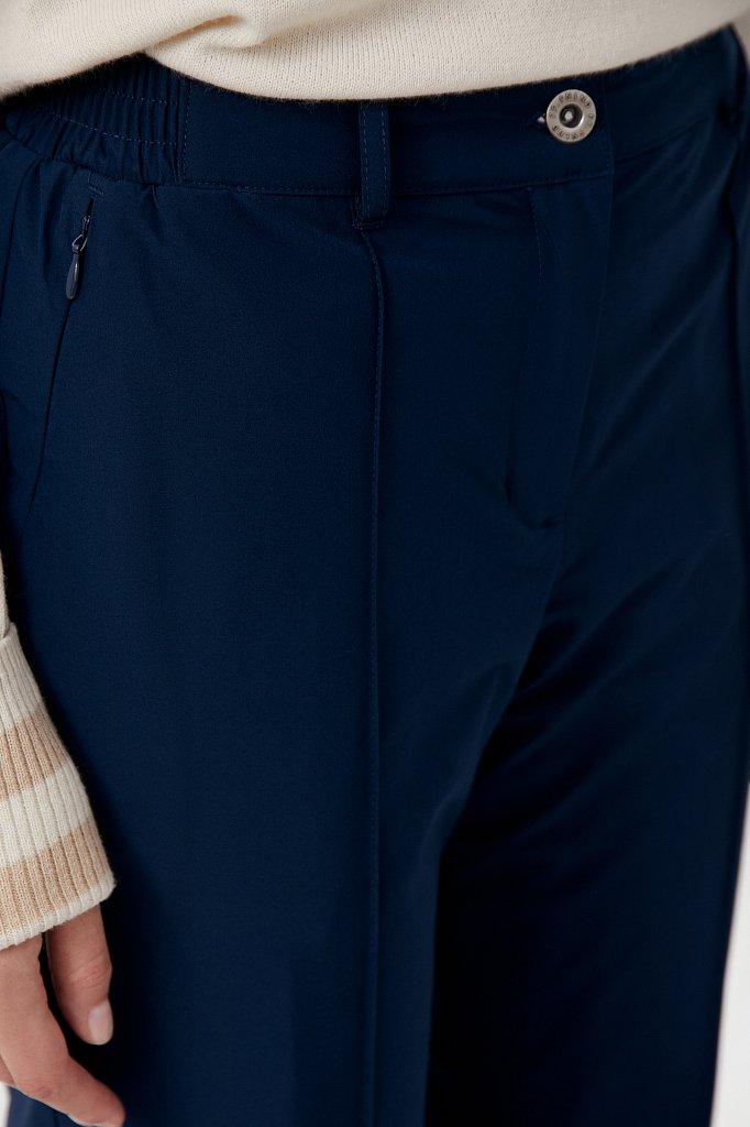 Утепленные женские брюки с поясом на резинке, Модель FAB110174, Фото №5