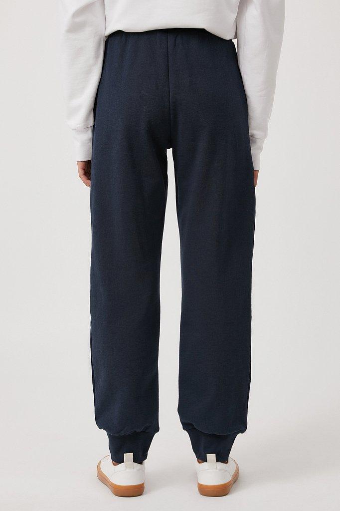 Женские брюки на резинке с манжетами по низу, Модель FAB110178, Фото №4
