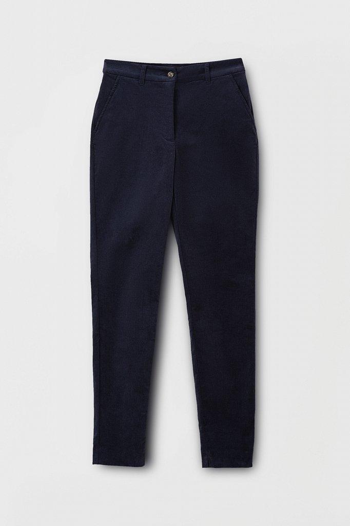Вельветовые зауженные женские брюки, Модель FAB110184, Фото №6