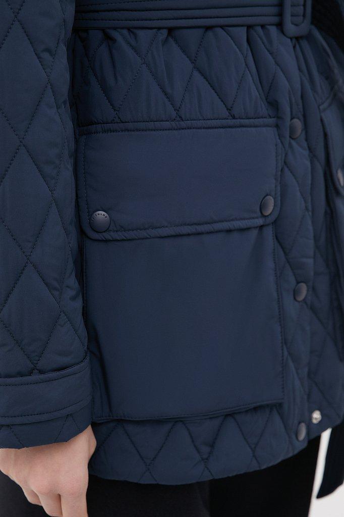 Женская утепленная куртка в рубашечном стиле, Модель FAB110199, Фото №6