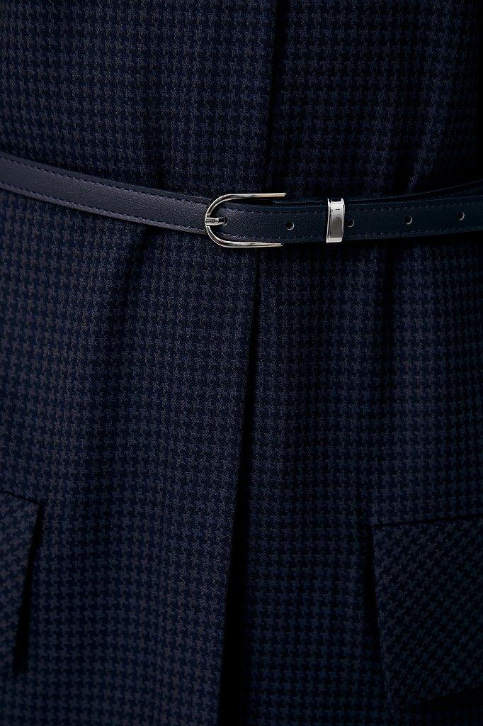 Удлиненный женский жакет из смесовой ткани, Модель FAB11021, Фото №5