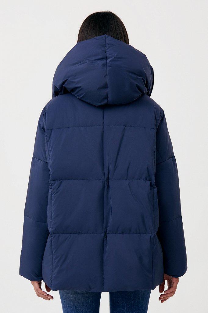 Оверсайз пуховик женский фасона «одеяло», Модель FAB11093, Фото №5