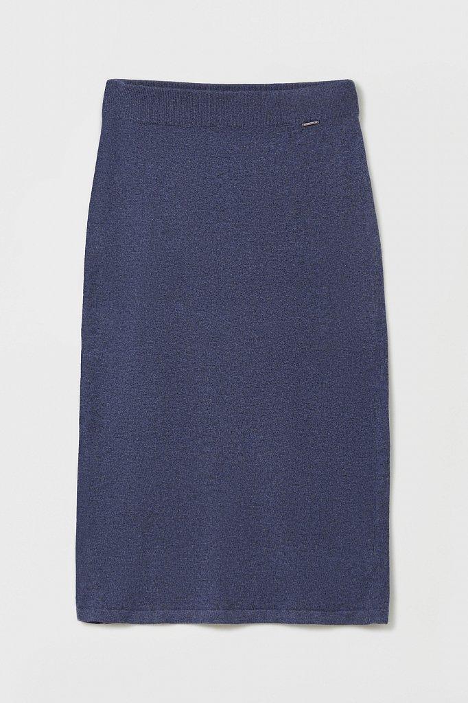 Женская трикотажная юбка с шерстью и ангорой, Модель FAB11188, Фото №6