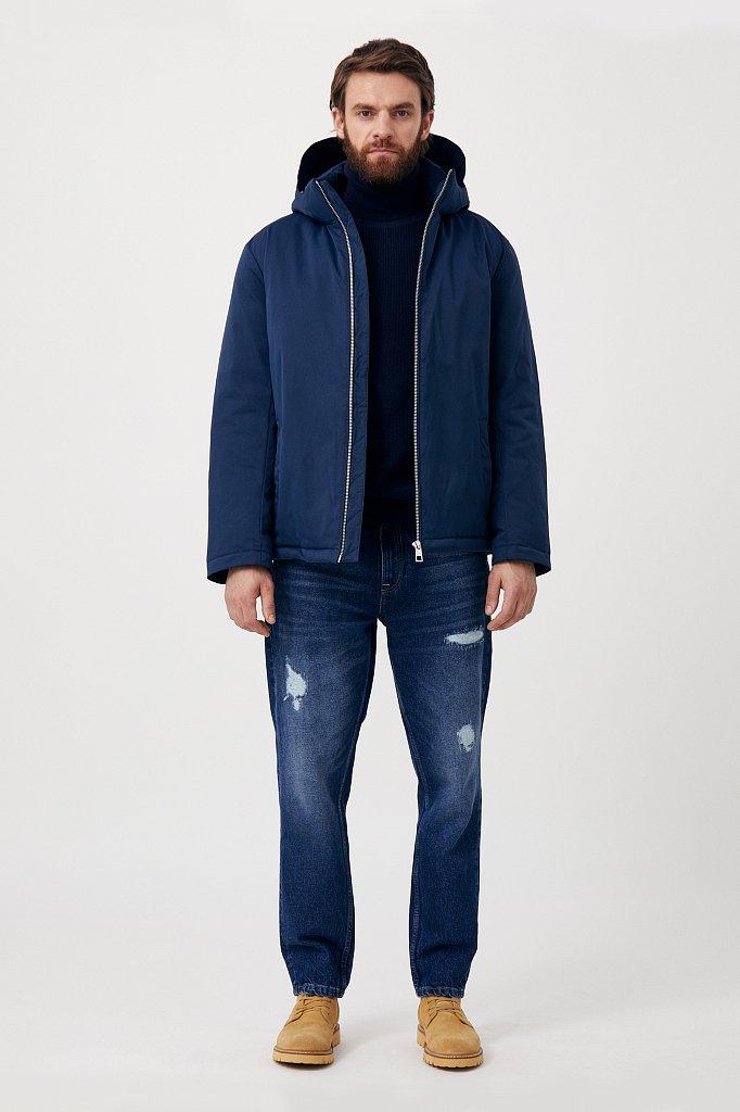 Демисезонная куртка мужская свободного кроя, Модель FAB21006, Фото №2