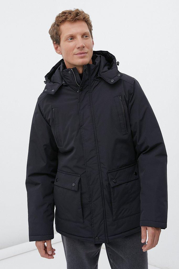 Удлиненная куртка в стиле casual, Модель FAB210107C, Фото №1