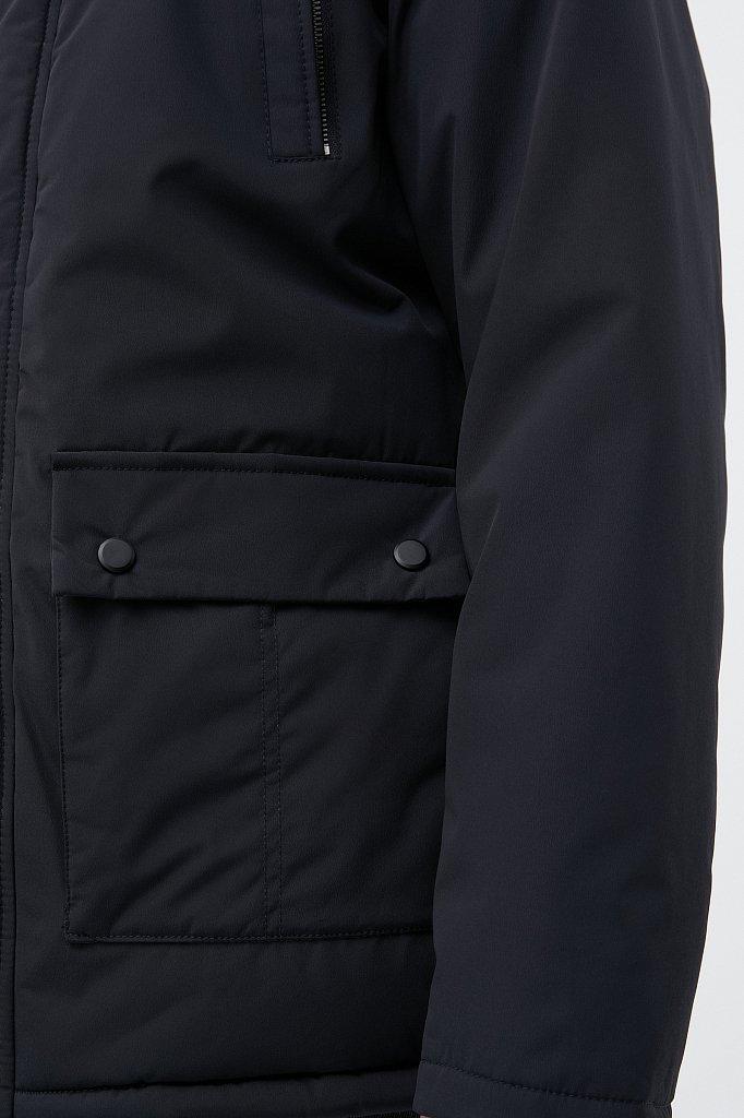 Удлиненная куртка в стиле casual, Модель FAB210107C, Фото №4
