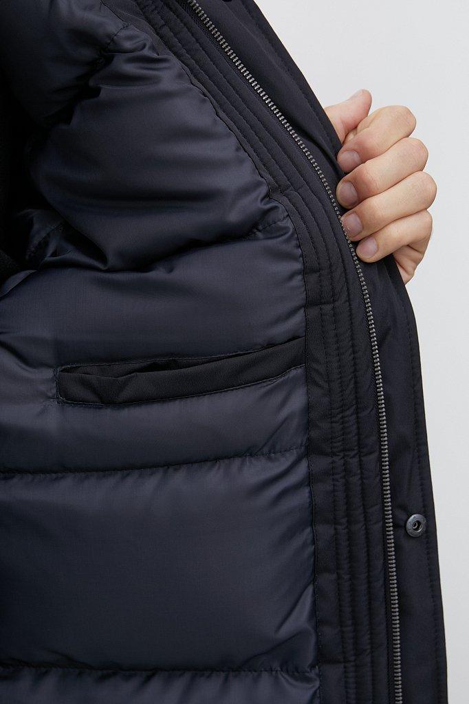 Удлиненная куртка в стиле casual, Модель FAB210107C, Фото №6
