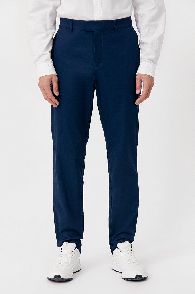 Мужские брюки с зауженным кроем брючин, Модель FAB21020, Фото №2