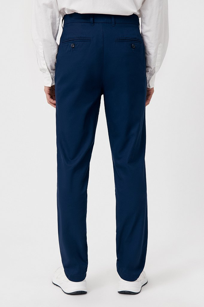 Мужские брюки с зауженным кроем брючин, Модель FAB21020, Фото №4