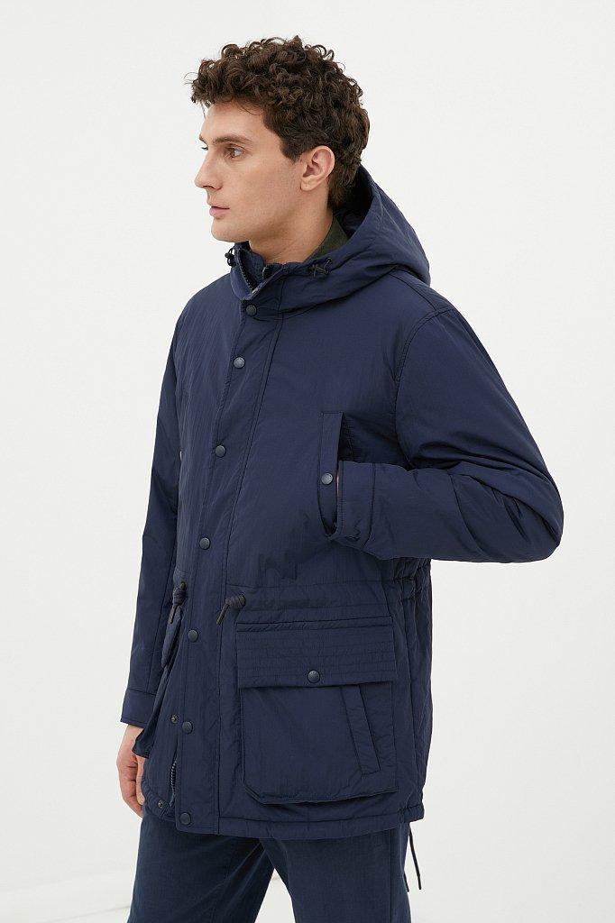 Демисезонная мужская куртка свободного кроя, Модель FAB21029, Фото №3