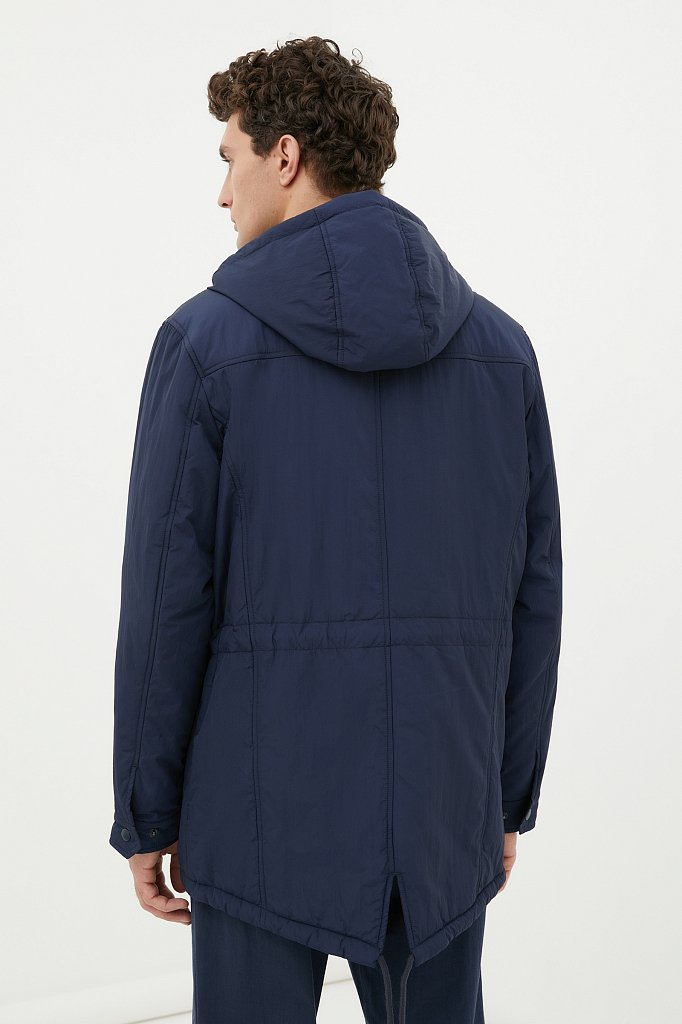 Демисезонная мужская куртка свободного кроя, Модель FAB21029, Фото №4