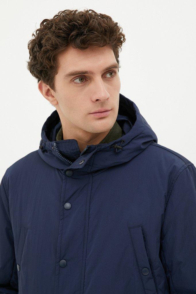 Демисезонная мужская куртка свободного кроя, Модель FAB21029, Фото №5