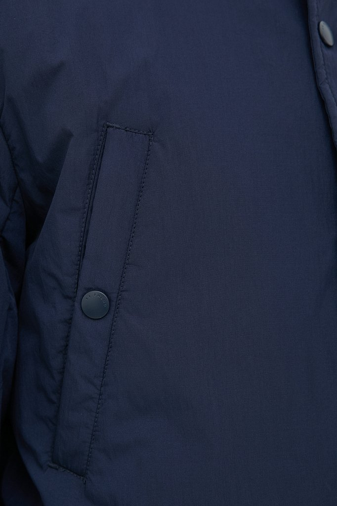 Демисезонная мужская куртка свободного кроя, Модель FAB21029, Фото №6