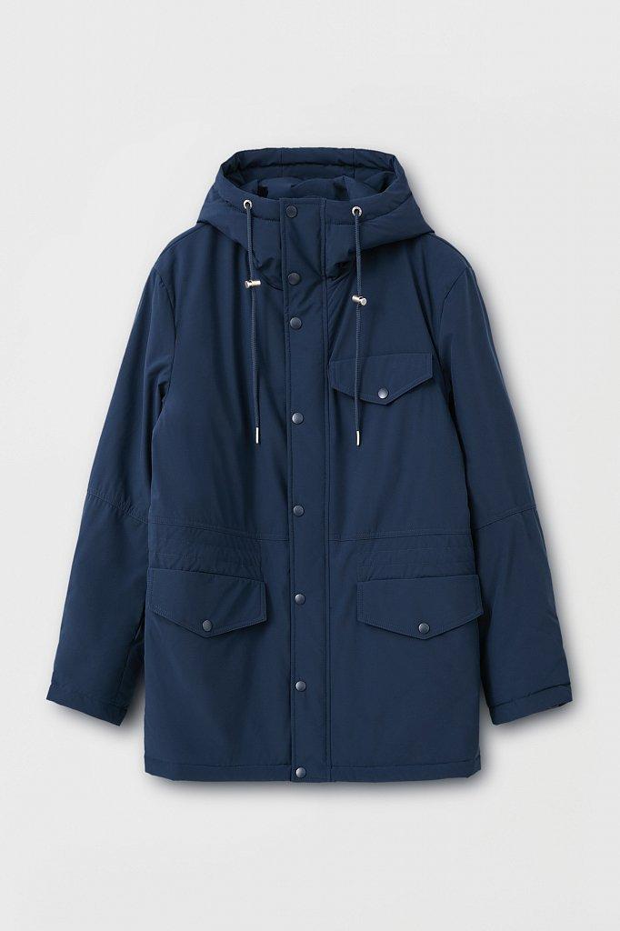 Демисезонная куртка мужская свободного кроя, Модель FAB21049, Фото №7