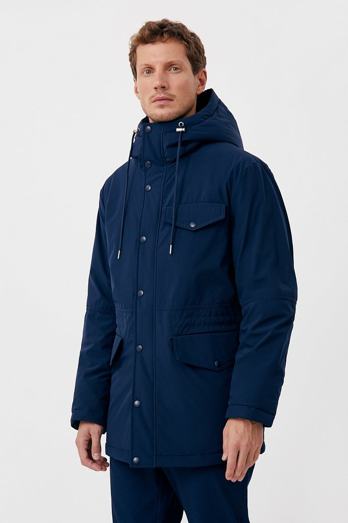 Демисезонная куртка мужская свободного кроя, Модель FAB21049, Фото №3