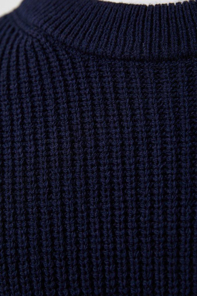 Трикотажный мужской джемпер с шерстью оверсайз, Модель FAB21133, Фото №5
