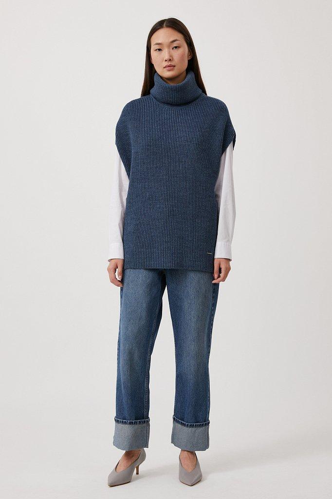 Жилет женский с шерстью, Модель FAB11101, Фото №2