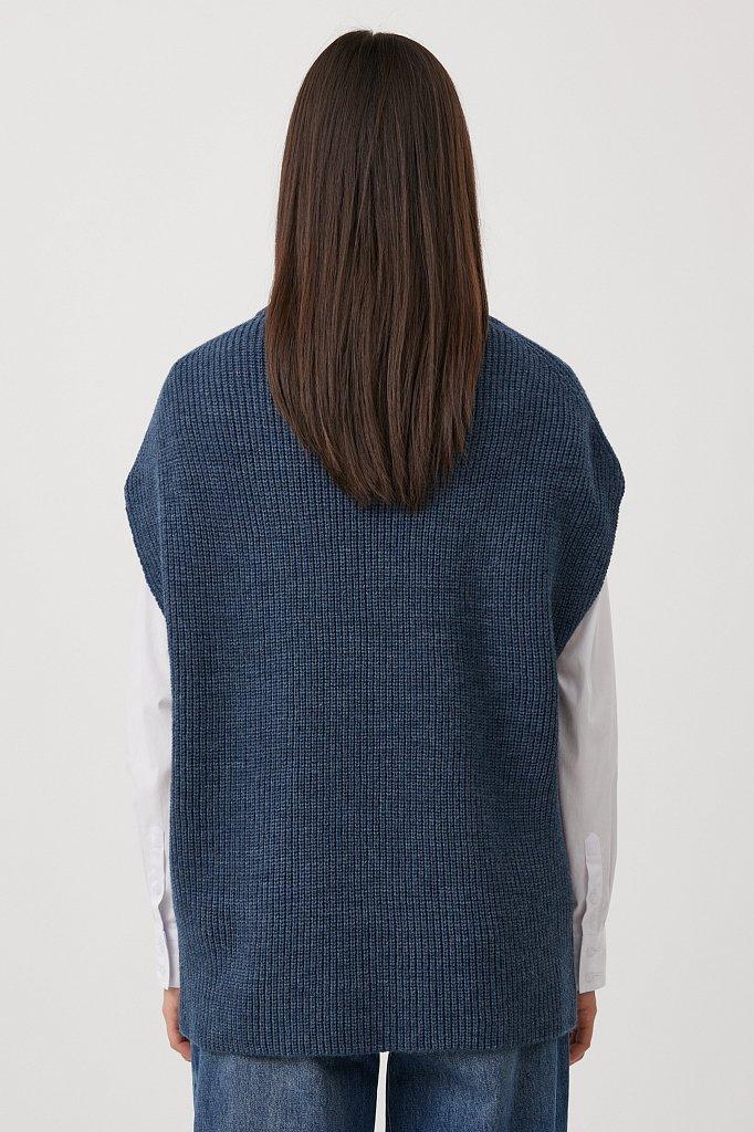Жилет женский с шерстью, Модель FAB11101, Фото №4