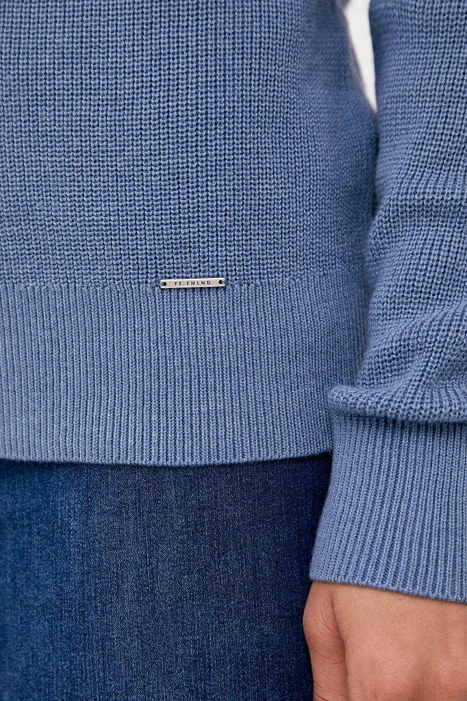 Женский свитер прямого силуэта с шерстью, Модель FAB11172, Фото №5