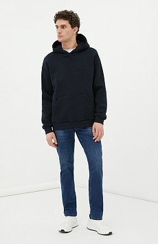 Классические прямые мужские джинсы straight fit FAB25013