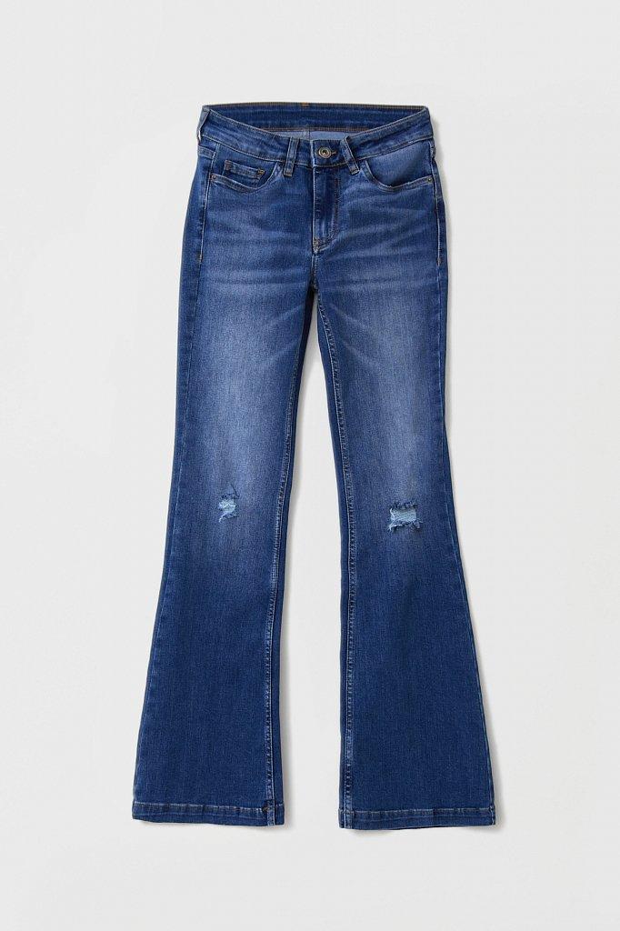 Джинсы женские bootcut fit, Модель FAB15004, Фото №6