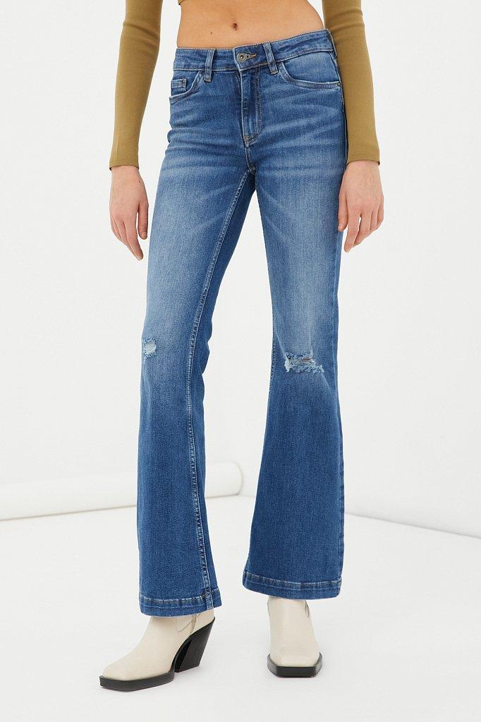 Джинсы женские bootcut fit, Модель FAB15004, Фото №2
