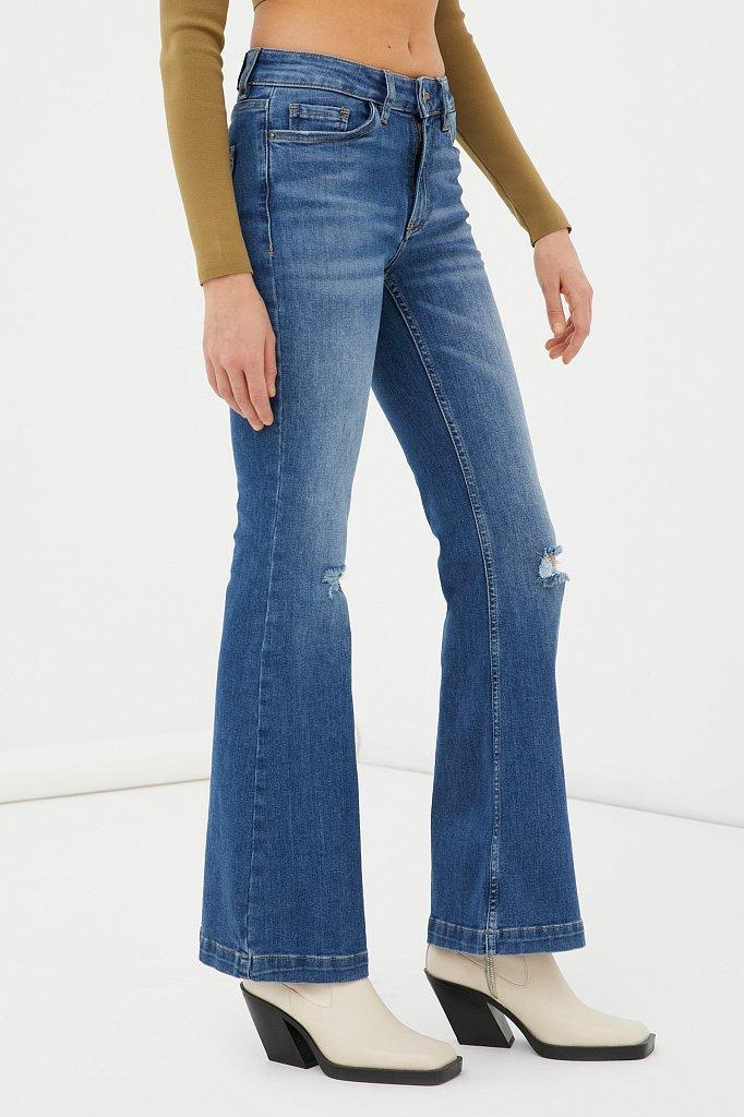 Джинсы женские bootcut fit, Модель FAB15004, Фото №3