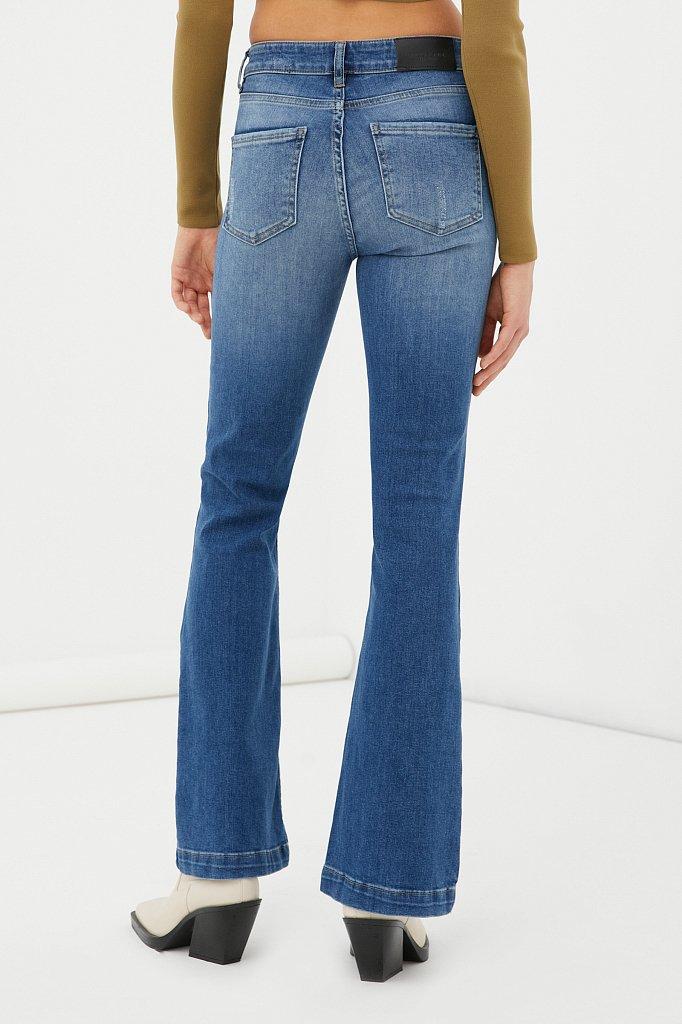Джинсы женские bootcut fit, Модель FAB15004, Фото №4