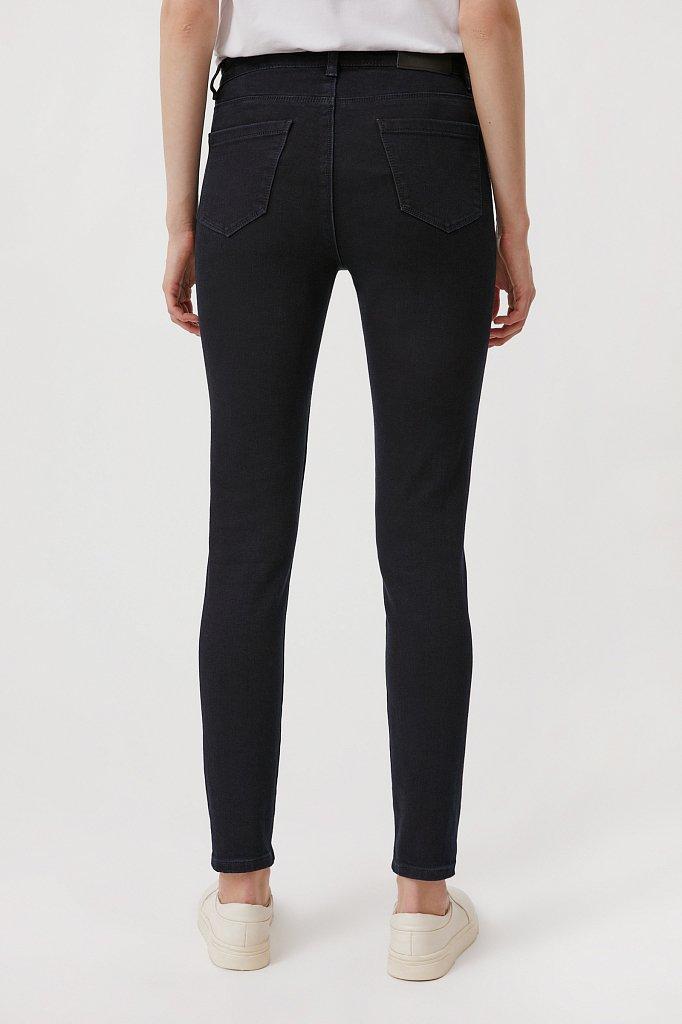 Женские слегка зауженные джинсы slim fit, Модель FAB15022, Фото №4