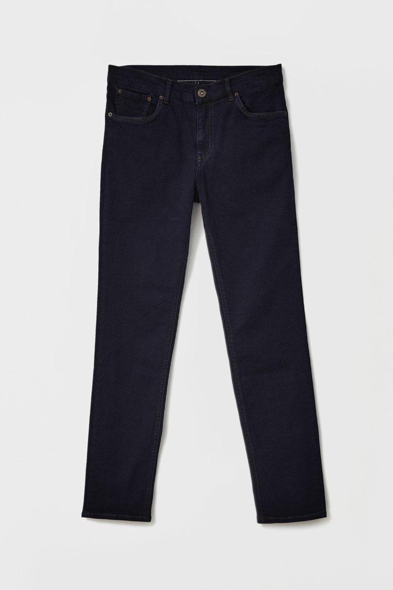 Слегка зауженные мужские джинсы slim fit, Модель FAB25014, Фото №6