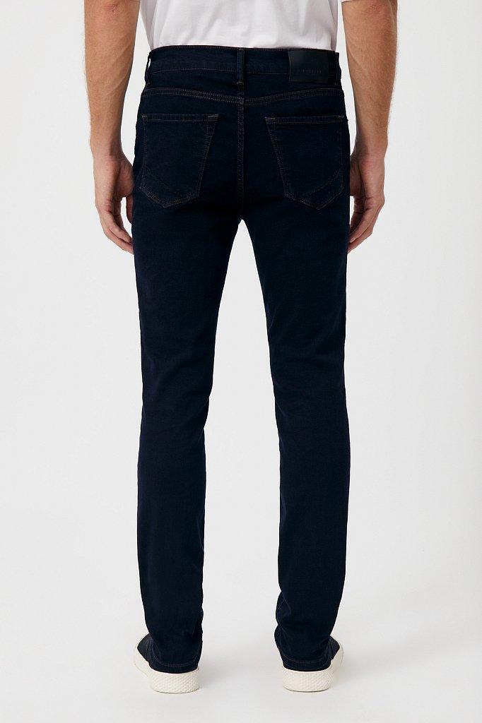 Слегка зауженные мужские джинсы slim fit, Модель FAB25014, Фото №4