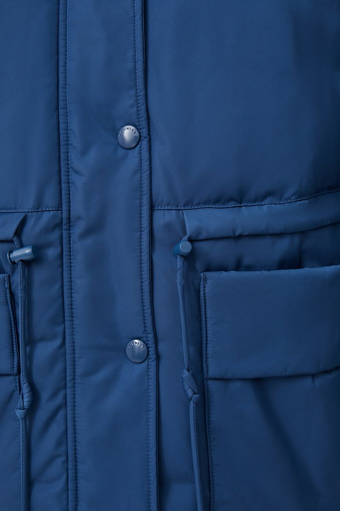Пуховик женский свободного кроя, Модель FAB110104, Фото №5