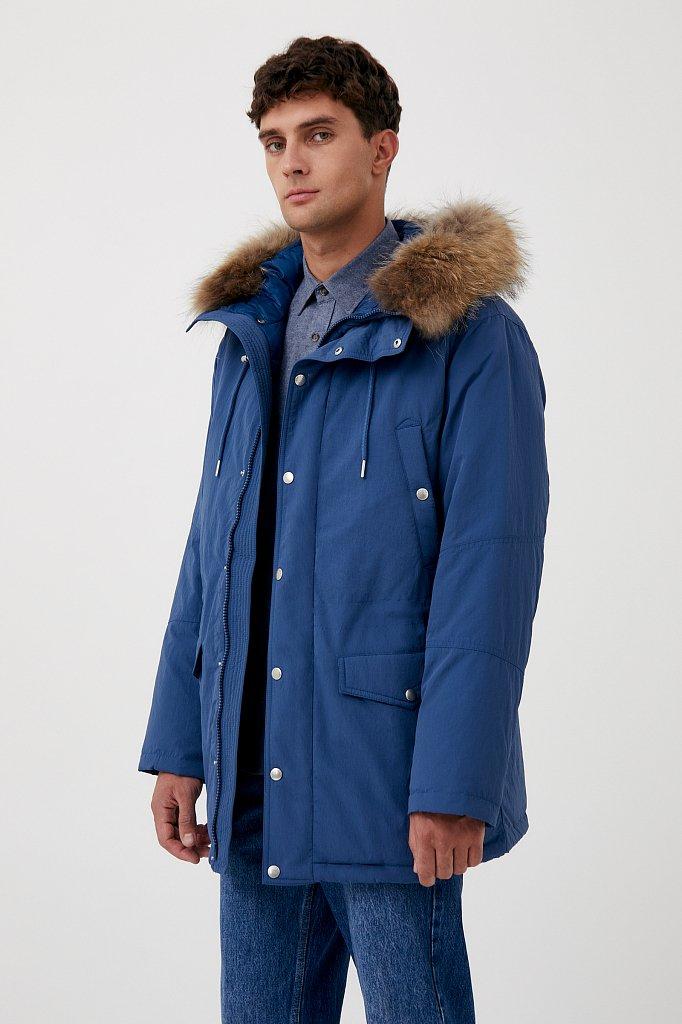 Пальто мужское, Модель FAB21066, Фото №3