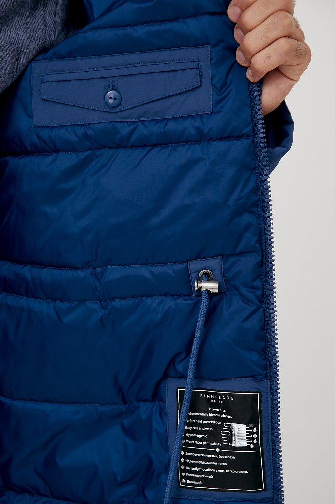 Пальто мужское, Модель FAB21066, Фото №4