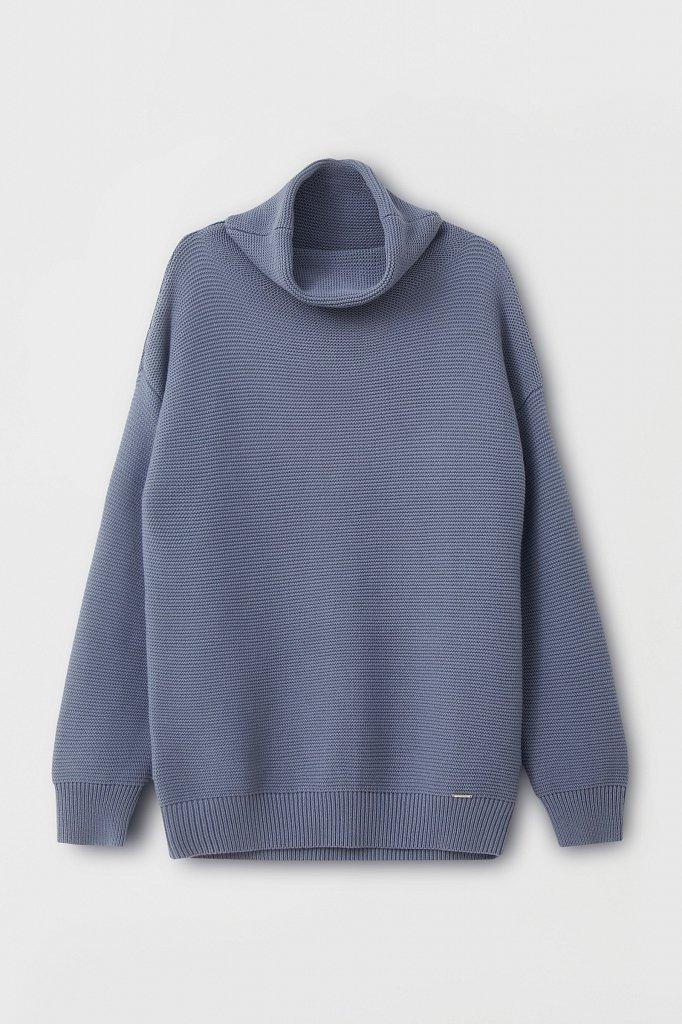 Женский свитер оверсайз прямого силуэта, Модель FAB111105, Фото №7