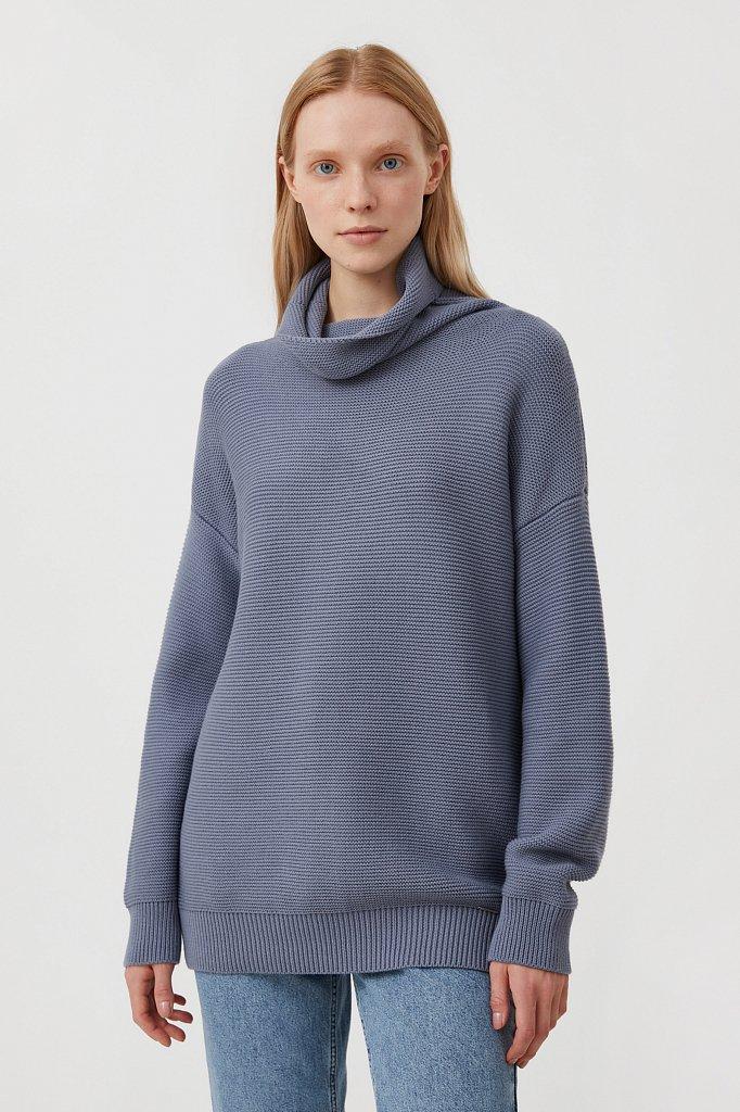 Женский свитер оверсайз прямого силуэта, Модель FAB111105, Фото №1